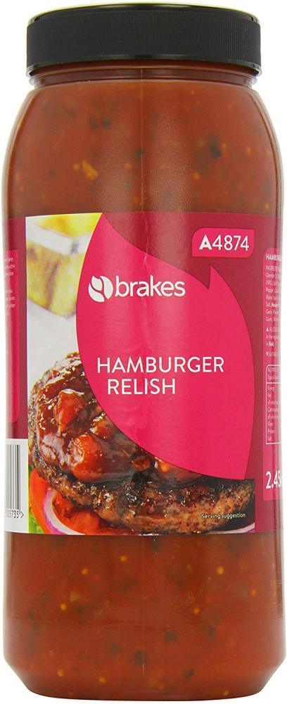 SALE  Brakes Hamburger Relish 2.45kg