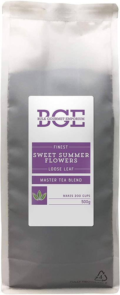 SALE  Bulk Gourmet Emporium Sweet Summer Flowers Loose Leaf Tea 500g