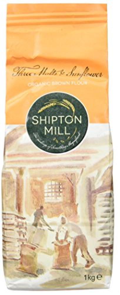 Shipton Mill Organic Three Malts and Sunflower Brown Flour 1 kg