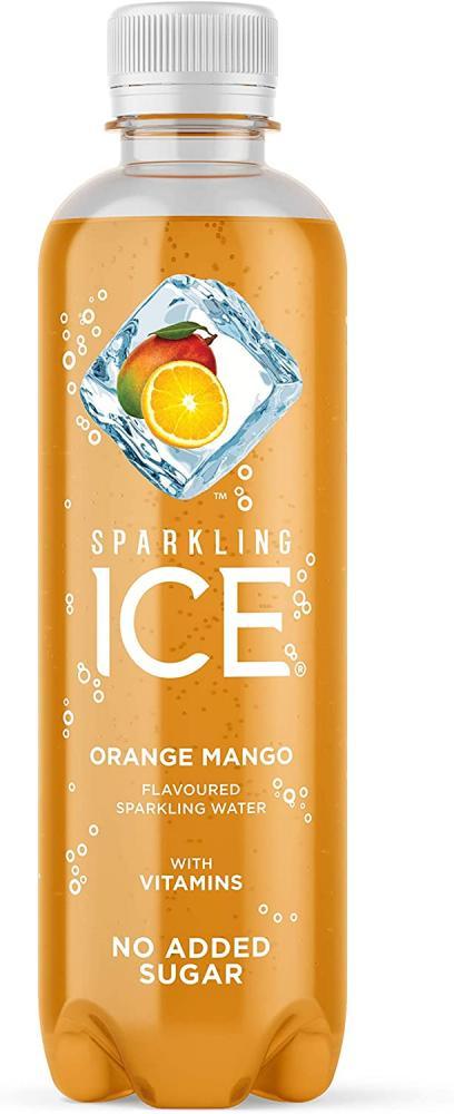 Sparkling Ice Orange Mango Sparkling Water with antioxidants and Vitamins No Sugar 400 ml