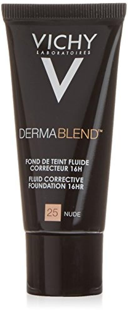 Vichy Laboratoires Dermablend Corrective Foundation 30ml 25 Nude Damaged Box