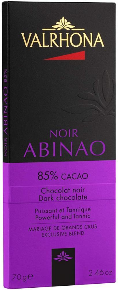 Valrhona Noir Abinao Dark Chocolate 70g