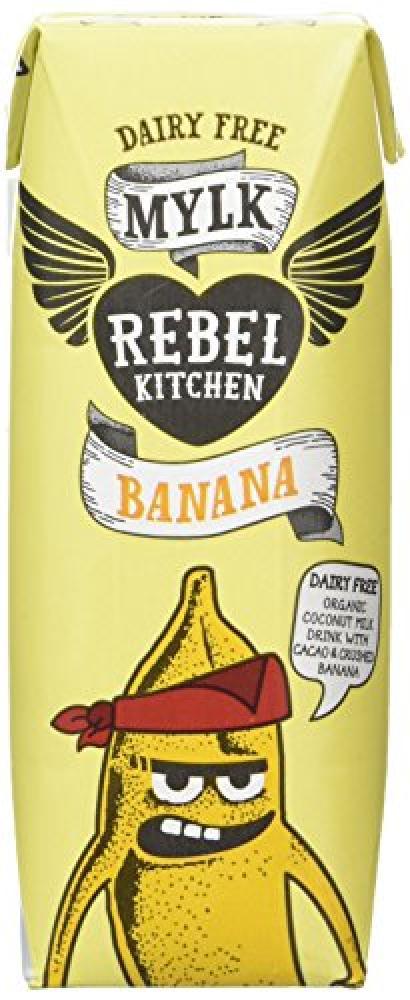 Rebel Kitchen Dairy Free Organic Banana Mylk 250ml