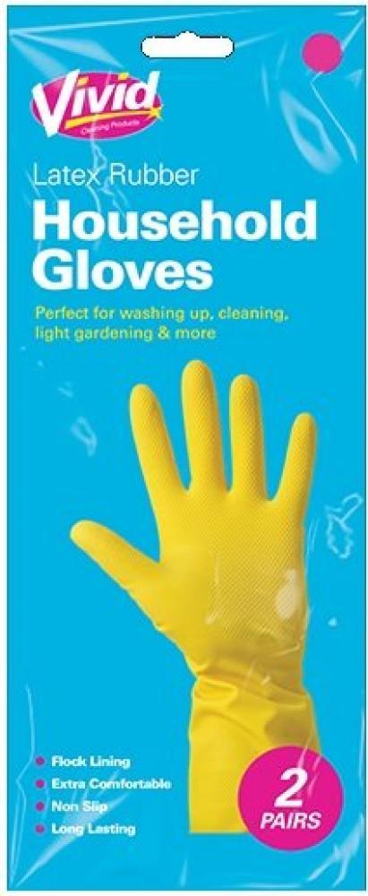 Vivid Household Gloves M 2 pack