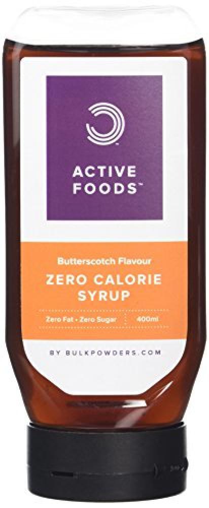 Bulk Powders Zero Calorie Syrup Sugar Free Butterscotch 400ml
