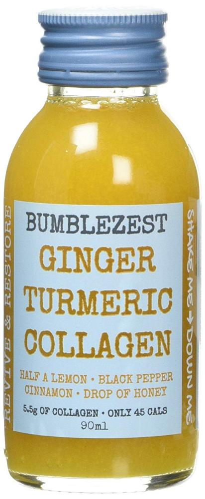 BumbleZest Ginger Turmeric Collagen Drink 90ml