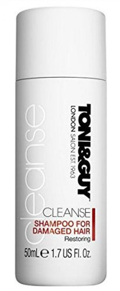 Toni and Guy Cleanse Damaged Shampoo 50ml