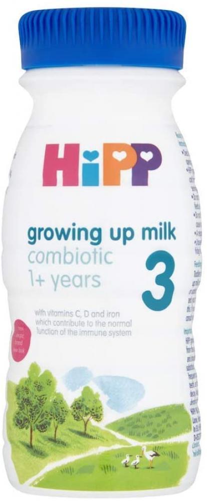 Hipp 3 Growing Up Milk Combiotic 1 Plus Years 200ml