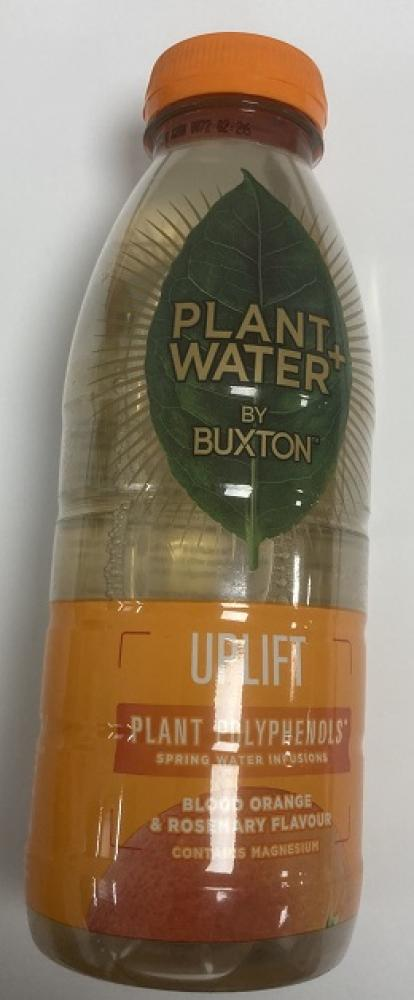 Buxton Plant Water Blood Orange and Rosemary 500ml