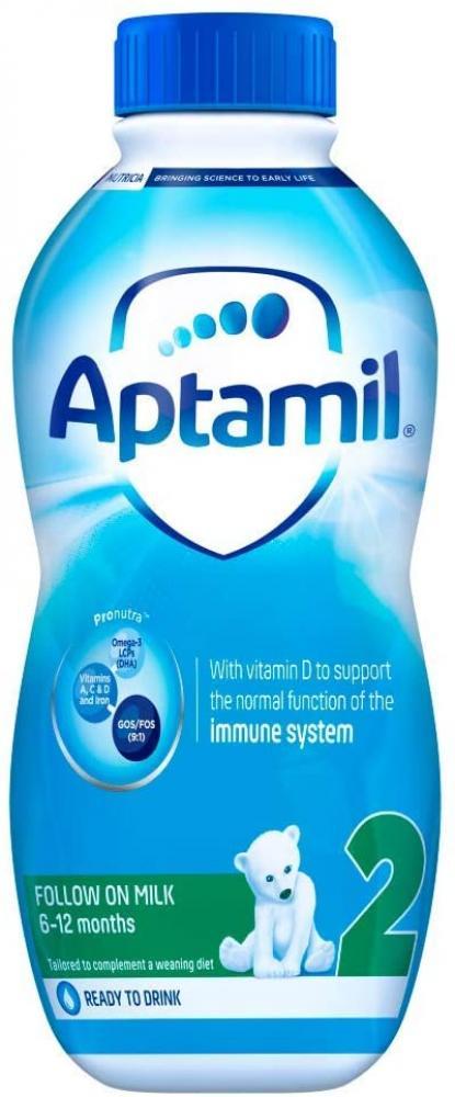 Aptamil 2 Follow On Milk From 6-12 Months 1 L