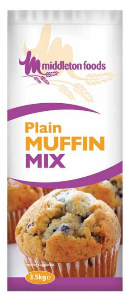 Middleton Foods Plain Muffin Mix 3.5kg
