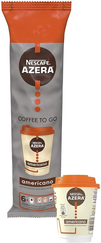 Nescafe Azera Coffee To Go Americano 6 x 3.2 g