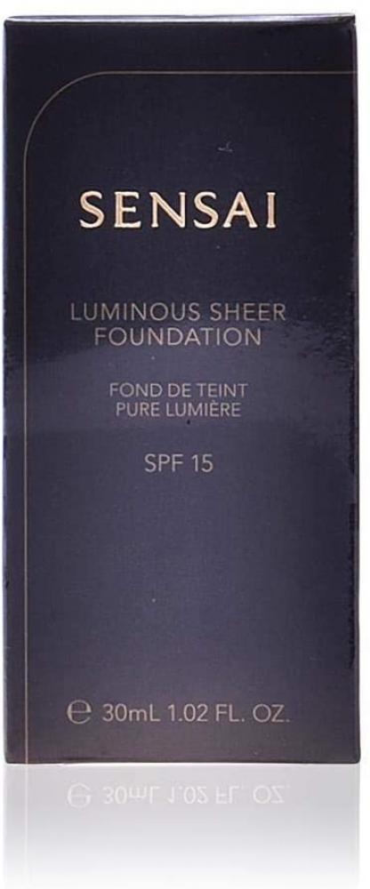 Sensai Luminous Sheer Foundation SPF15 LS204 Honey Beige 30ml