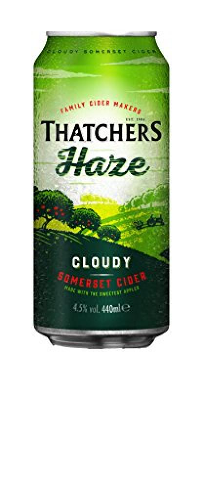 Thatchers Haze Cloudy Somerset Cider 440ml