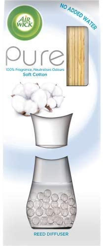Air Wick Essential Oils Reed Diffuser Soft Cotton 25ml