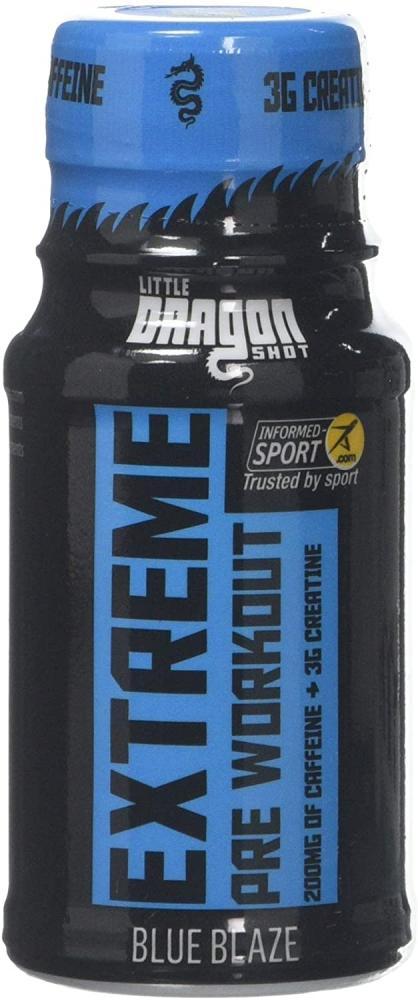 Little Dragon Extreme Pre Workout Shot Blue Raspberry 60ml