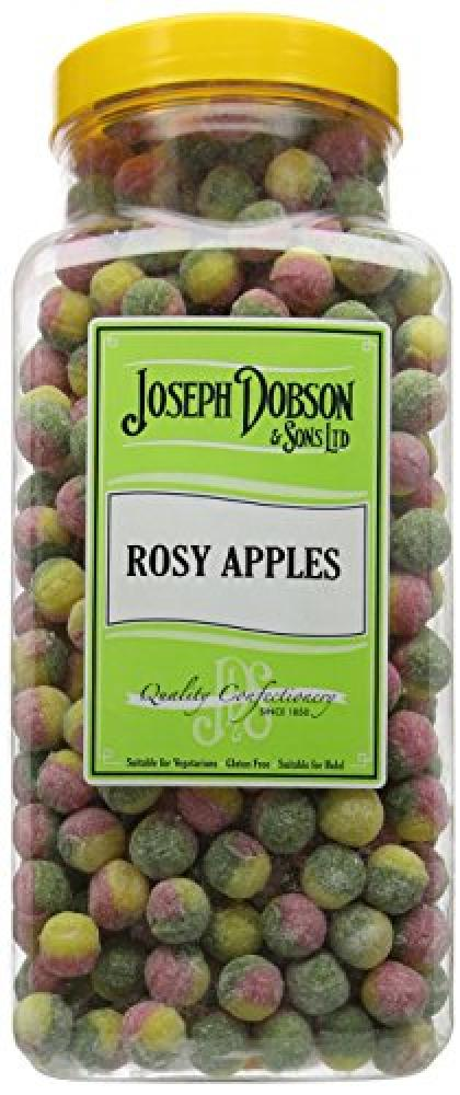 Joseph Dobson and Sons Sons Rosy Apples Sweets 3 kg Damaged