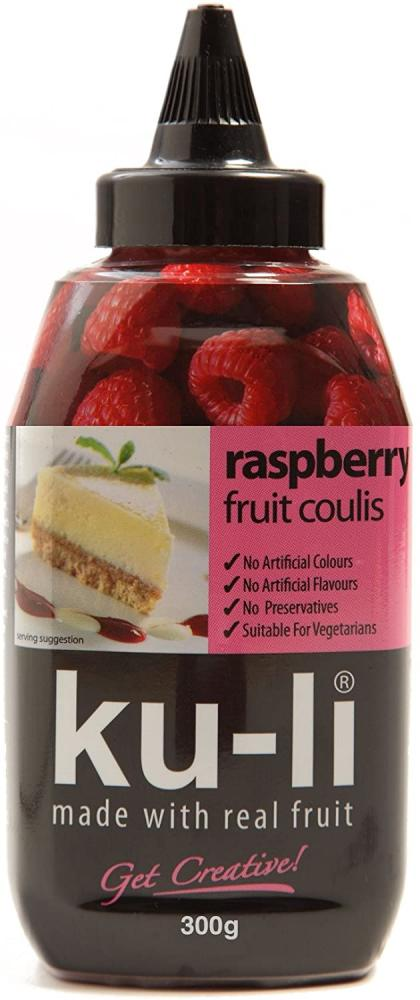 WEEKLY DEAL  Ku Li Raspberry Fruit Coulis 300g