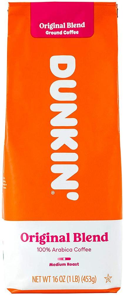 Dunkin Donuts Original Blend Ground Coffee 453g