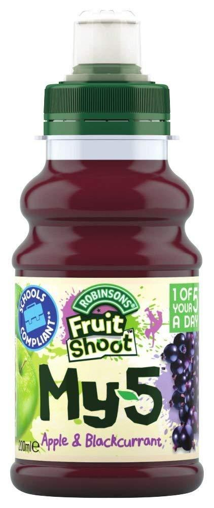 Robinsons Fruit Shoot My 5 Apple and Blackcurrant 200ml