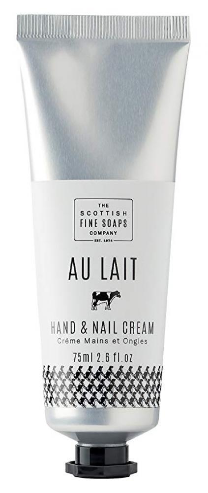 The Scottish Fine Soaps Company Au Lait Hand And Nail Cream 75ml