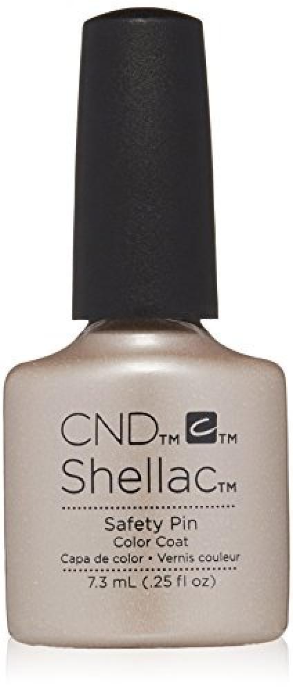 CND Shellac Nail Polish, Safety Pin