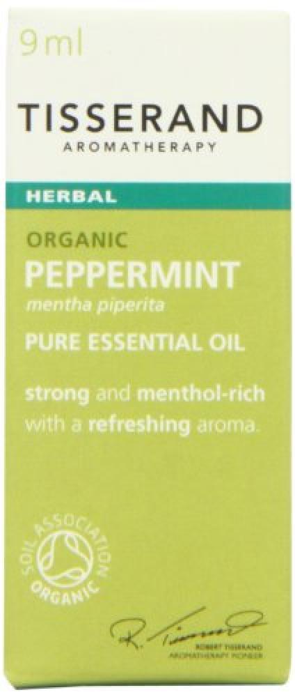 Tisserand Peppermint Organic Essential Oil 9 ml
