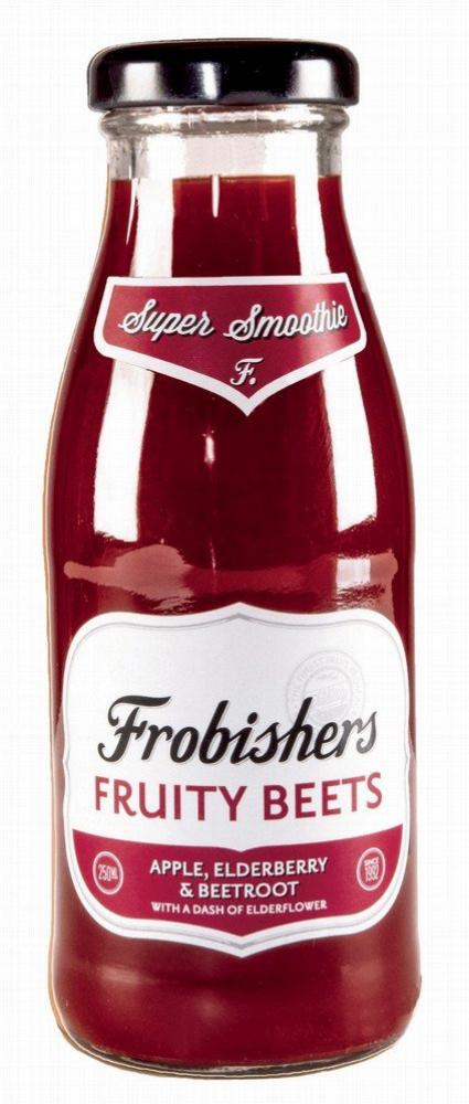 Frobishers Fruity Beets Super Smoothie 250ml