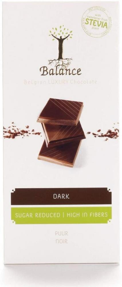 Balance Stevia No Added Sugar Dark Chocolate Bar 85 g