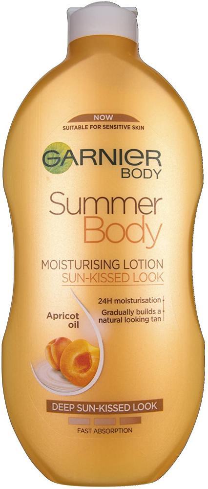 Garnier Body Summer Body Moisturising Lotion Sun-Kissed Look 400ml