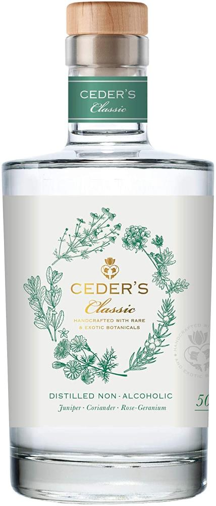 Ceders Classic Non-Alcoholic Spirit 50cl