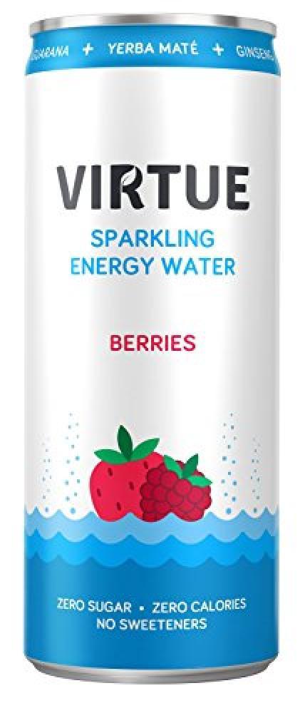 Virtue Energy Water Berries 250ml