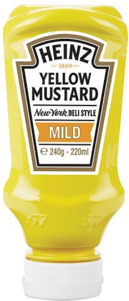 Heinz Yellow Mustard Mild 220ml