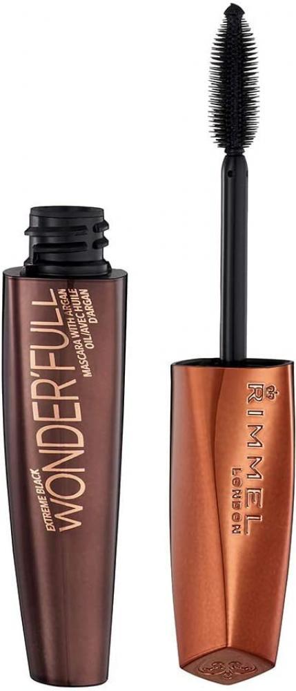 Rimmel London WonderFull Mascara With Argan Oil Extreme Black 11ml