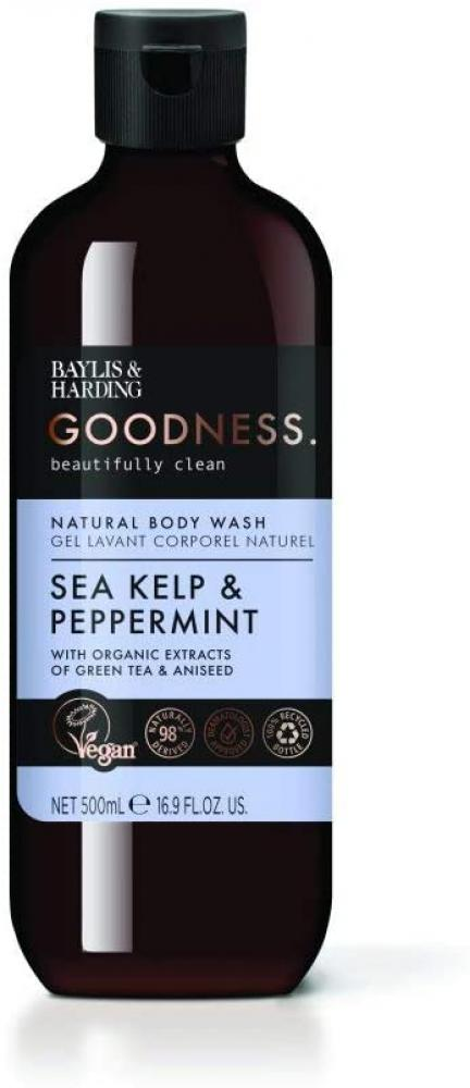Baylis and Harding Goodness Sea Kelp and Peppermint Body Wash 500 ml