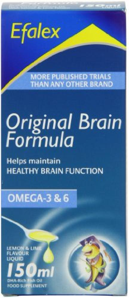 Efalex Brain Formula Liquid Omega 3 And 6 DHA Rich 150ml