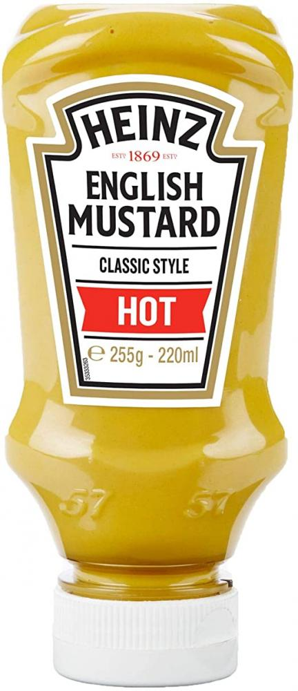 Heinz English Mustard Hot 220ml
