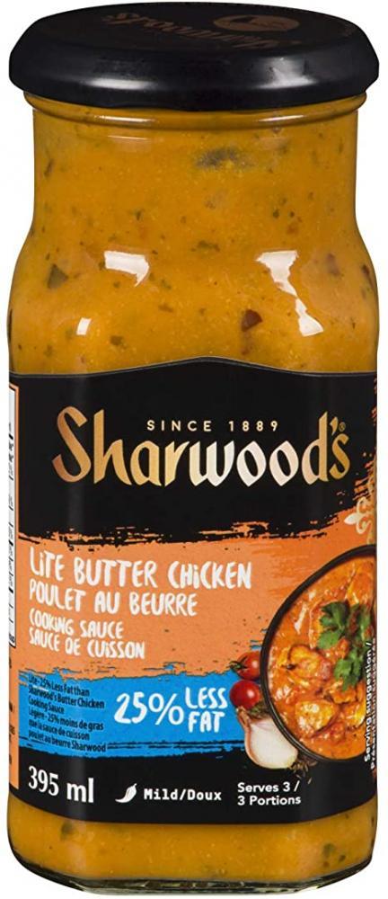Sharwoods Butter Chicken Cooking Sauce 25 Percent Less Fat 420g