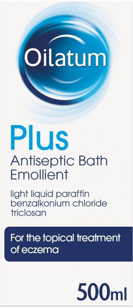 Oilatum Plus Eczema Antiseptic Emollient Bath Additive 500 ml