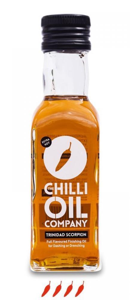SUPER SATURDAY SALE  The Chilli Oil Company Trinidad Scorpion Chilli Oil 125ml