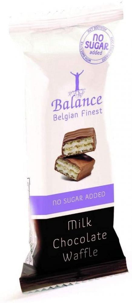 Balance No Added Sugar Milk Chocolate Wafers 30g