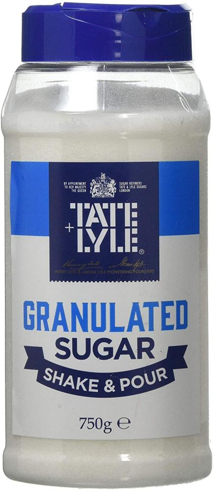 Tate and Lyle Granulated Cane Sugar Shake And Pour Dispenser 750g