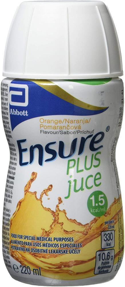 Ensure Plus Juce Nutritional Supplement Drink Orange 220ml