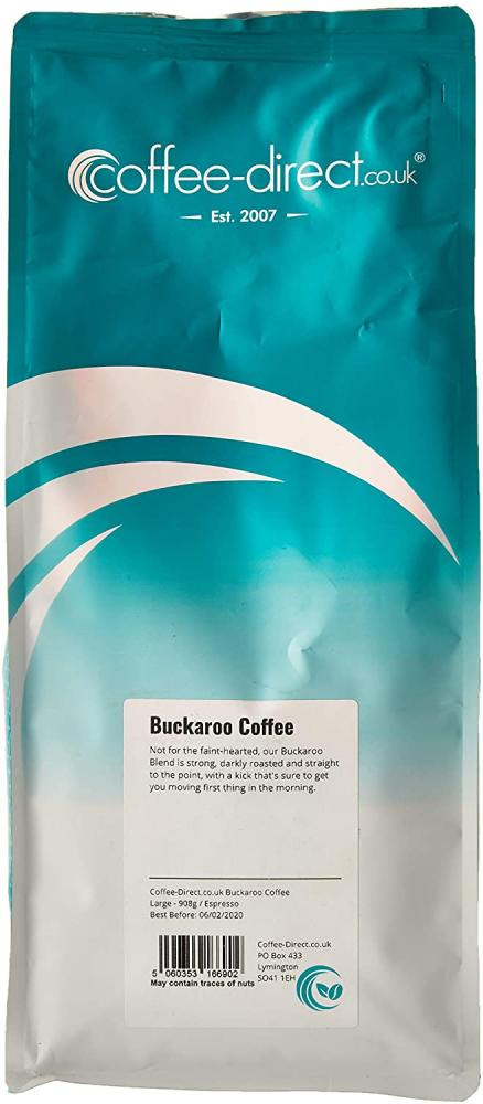 SALE  Coffee Direct Buckaroo Coffee Espresso Grind 908g
