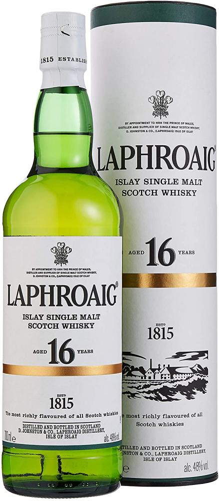Laphroaig 16 Year Old Single Malt Scotch Whisky 700ml
