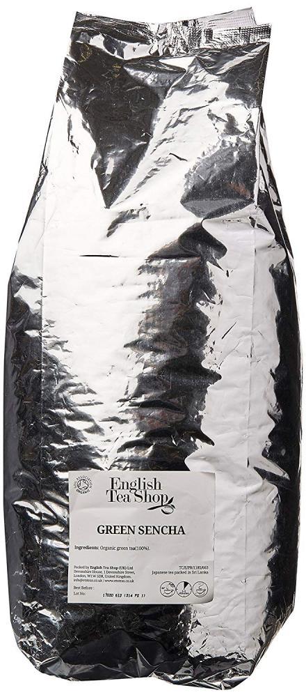 SALE  English Tea Shop Organic Green Sencha Refill Tin Loose Tea 1kg