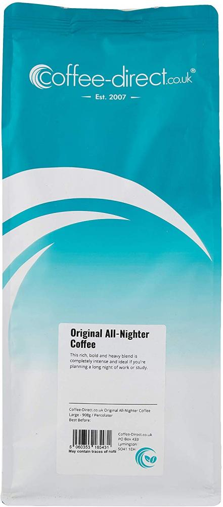 Coffee Direct Original All Nighter Coffee Percolator Grind 908 g