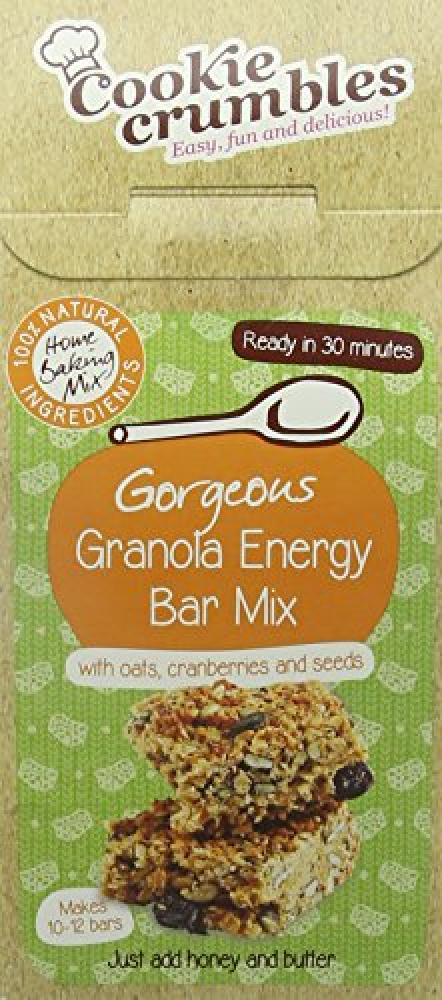 Cookie Crumbles Granola Energy Bar Mix 300 g