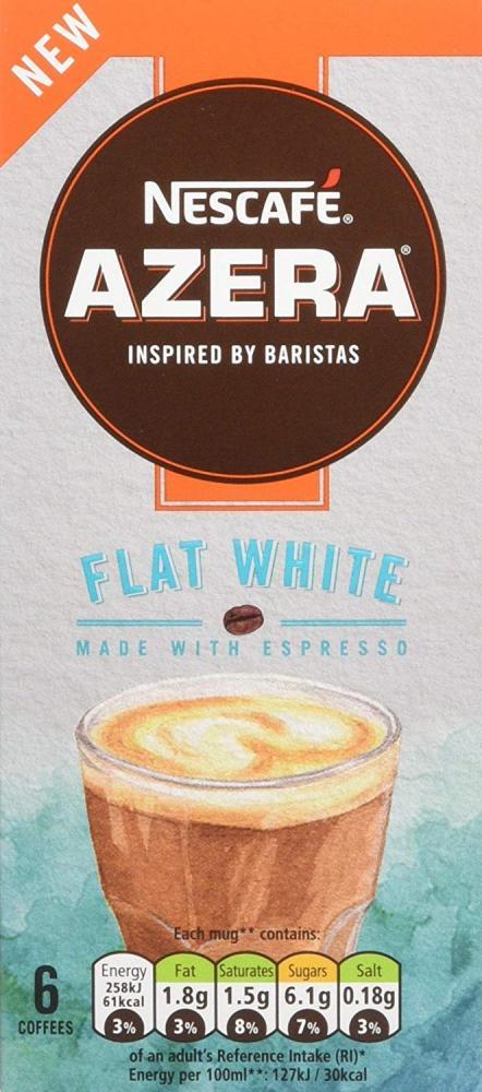 Nescafe Azera Flat White 6 Coffee Sachets 96g