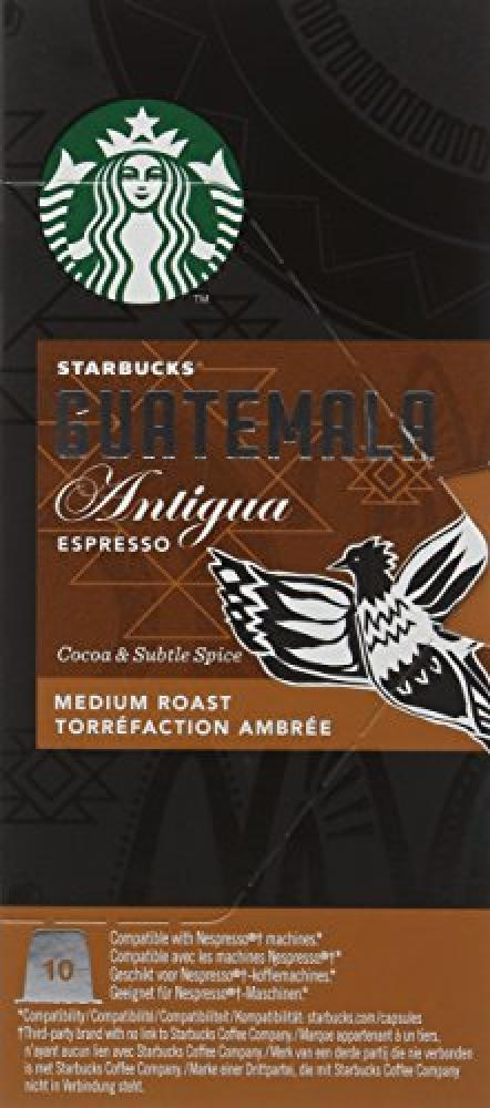 Starbucks Compatible Espresso Guatemala10 Capsules